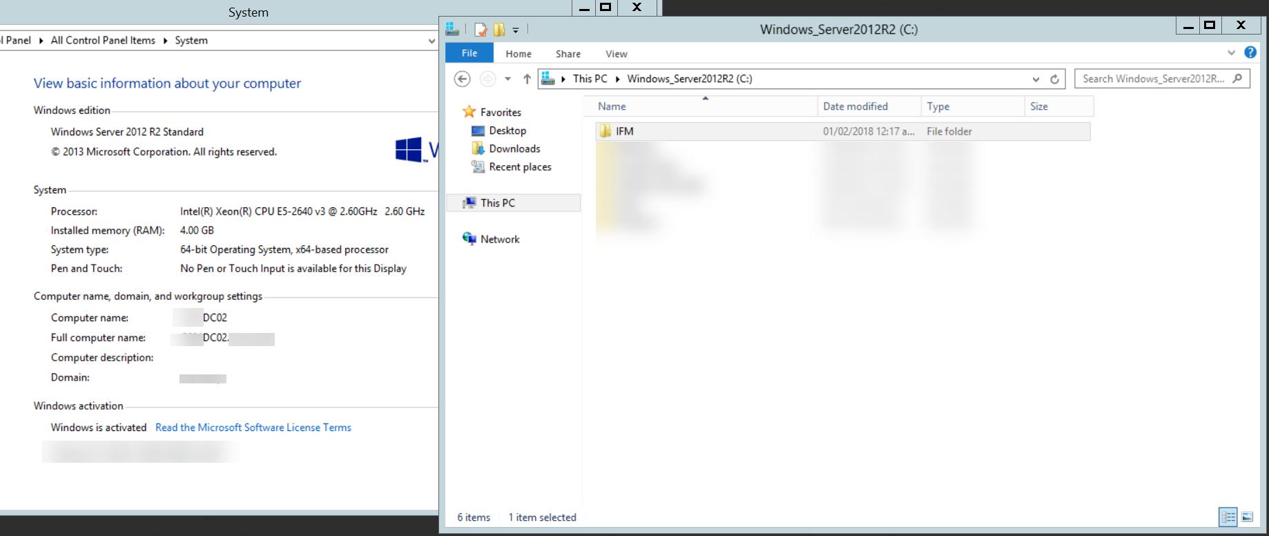Instalando un Segundo Controlador de Dominio con IFM, [Windows Server 2012 R2] – Instalando un Segundo Controlador de Dominio con IFM, ElCegu, ElCegu