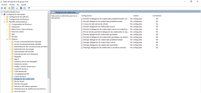 No se permite la función solicitada Puede que la causa sea la corrección del oráculo de cifrado CredSSP, [Windows 10] – No se permite la función solicitada, Puede que la causa sea la corrección del oráculo de cifrado CredSSP., ElCegu, ElCegu
