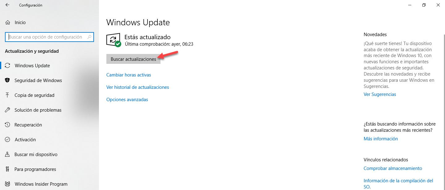 Windows 10 Actualización October 2018, [Windows 10] – Actualización October 2018., ElCegu