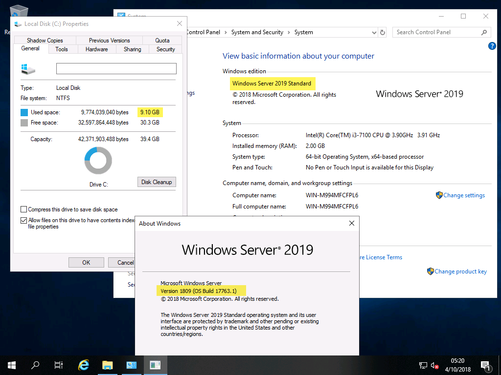Disponible para Todos!! y Primera Instalación., [Windows Server 2019] – Disponible para Todos!! y Primera Instalación., ElCegu, ElCegu