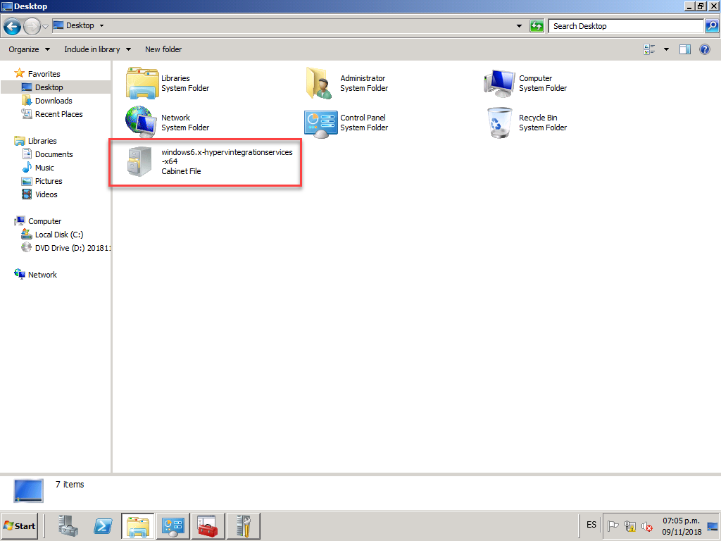 "No me aparece ""Insert Integration Services Setup Disk"", [Hyper-V] – No me aparece «Insert Integration Services Setup Disk»., ElCegu, ElCegu"