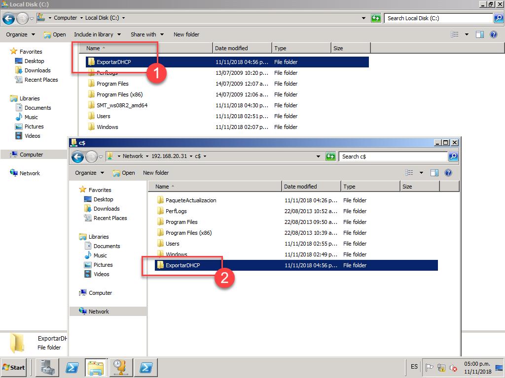 Migrando DHCP usando Windows Server Migration Tools, [Windows Server 2012 R2] – Migrando DHCP usando Windows Server Migration Tools., ElCegu, ElCegu