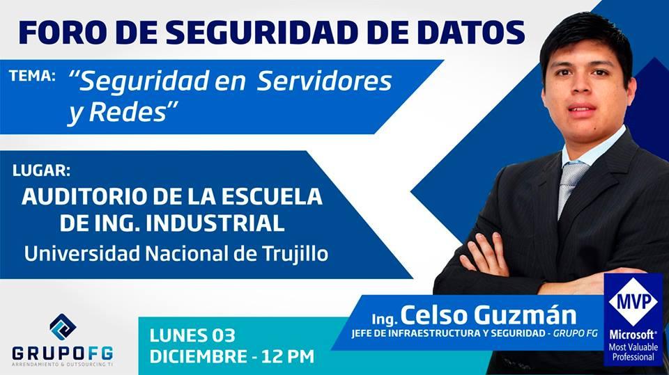 Foro de Seguridad en Servidores y Redes, Foro de Seguridad en Servidores y Redes, ElCegu
