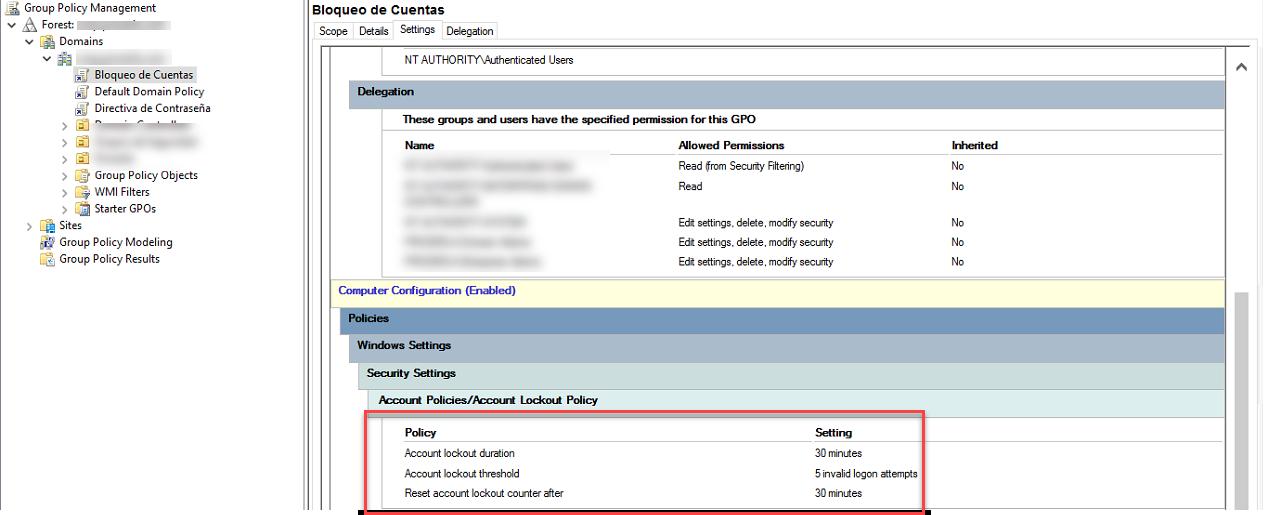 Configurar las Directivas de Contraseñas y de Bloqueo de Cuenta, [Windows Server 2016] – Configurar las Directivas de Contraseñas y de Bloqueo de Cuenta, ElCegu