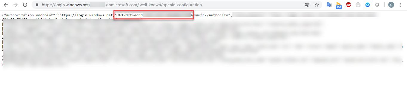 Averiguar dónde se encuentra los datos de mi tenant y obtener el ID de la misma, [Office 365] – Averiguar dónde se encuentra los datos de mi tenant y obtener el ID de la misma., ElCegu, ElCegu