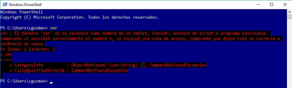 Verificar la Versión de Windows con PowerShell, [Windows] – Verificar la Versión de Windows con PowerShell., ElCegu, ElCegu