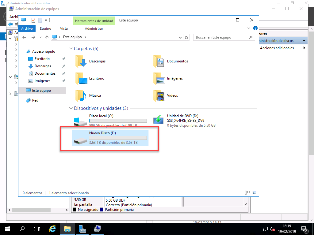 Atachar un Disco Duro Externo (USB) a una Máquina Virtual, [Hyper-V] – Atachar un Disco Duro Externo (USB) a una Máquina Virtual., ElCegu