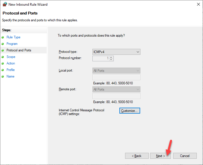 Habilitar ping request usando Firewall de Windows., [Windows Server 2019] – Habilitar «Ping Request» usando Firewall de Windows., ElCegu, ElCegu