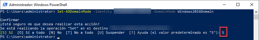 Elevar el nivel del Bosque y Dominio usando PowerShell, [Windows Server 2019] – Elevar el nivel del Bosque y Dominio usando PowerShell., ElCegu, ElCegu