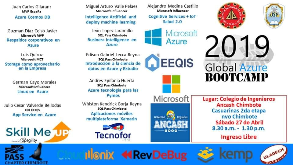 Global Azure Bootcamp 2019, ¡Global Azure Bootcamp 2019!, ElCegu