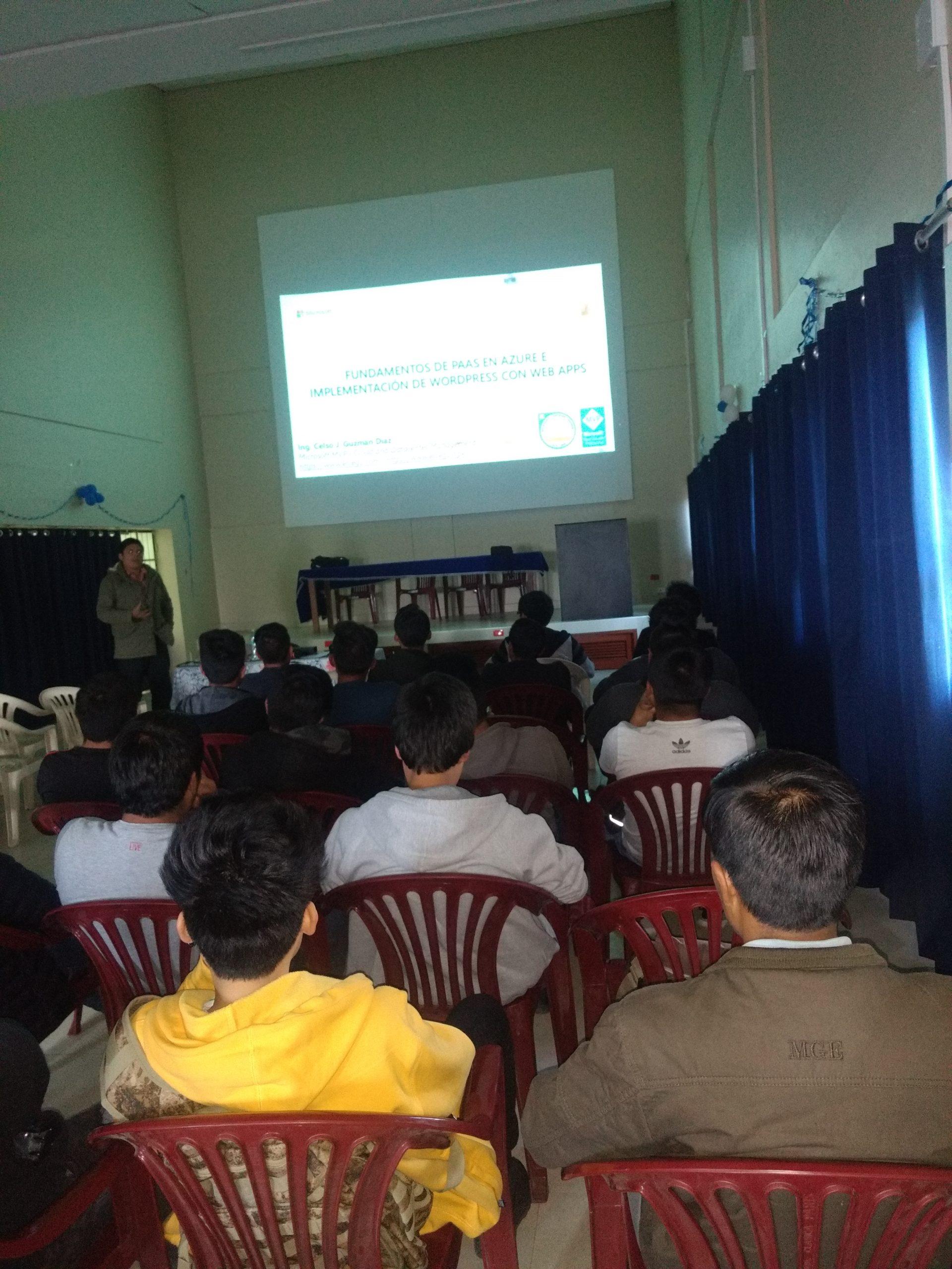 Congreso Internacional de Tecnologia USP Huaraz, Congreso Internacional – «Fortalecimiento de las Perspectivas sobre Ciencia, Tecnologia, Conocimiento y Sociedad», ElCegu