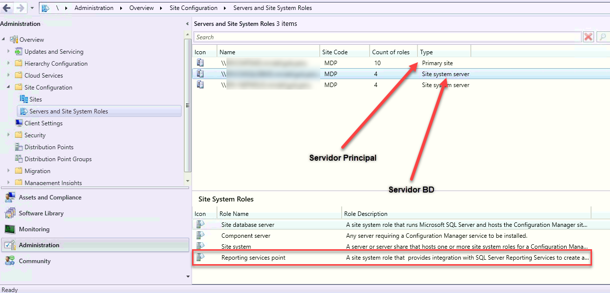 , [SCCM 1910] – Error: (!) Error retrieving report files – [The SELECT permission was denied on the object 'Reports', database 'CM_XXX', schema 'dbo'.]., ElCegu